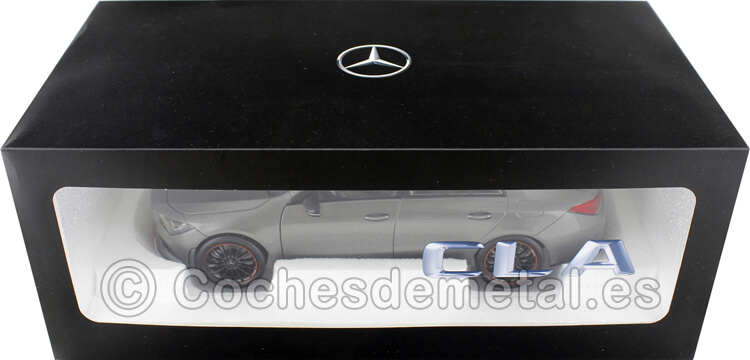 2019 Mercedes-Benz CLA Coupe (C118) Mountain Grey 1:18 Dealer Edition B66960472
