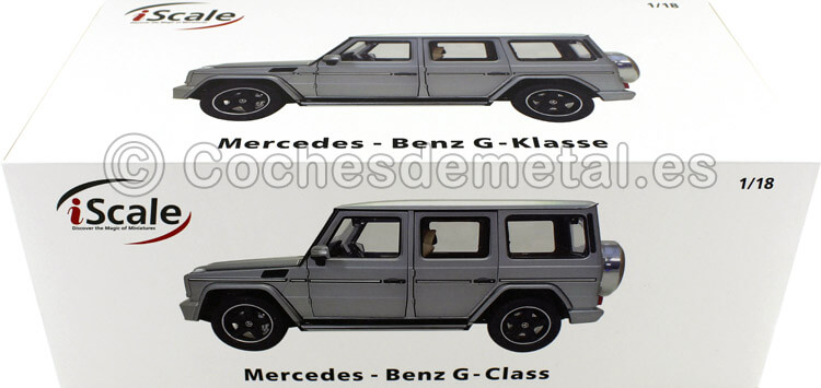 2015 Mercedes-Benz G-Klasse (W463) Platino Magno 118 iScale 118000000041