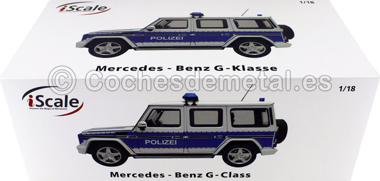2015 Mercedes-Benz G-Klasse (W463) Policia 1:18 iScale 118000000045