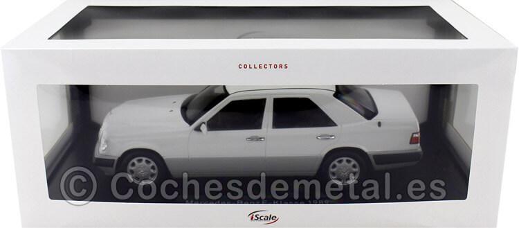 1989 Mercedes-Benz Clase E (W124) Artic White 1:18 iScale 11800000052