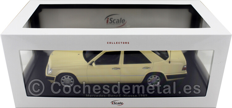 1989 Mercedes-Benz Clase E (W124) Taxi Berlin 1:18 iScale 11800000056