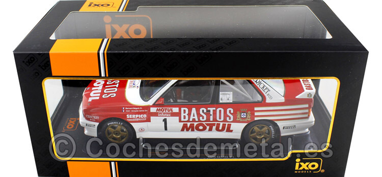 1988 BMW M3 (E30) Rallye Tour de Corse  Beguin/Lenne 1:18 IXO Models 18RMC040A