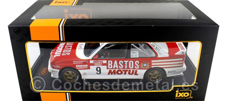 1988 BMW M3 (E30) Rallye Tour de Corse Chatriot/Perin 1:18 IXO Models 18RMC040B