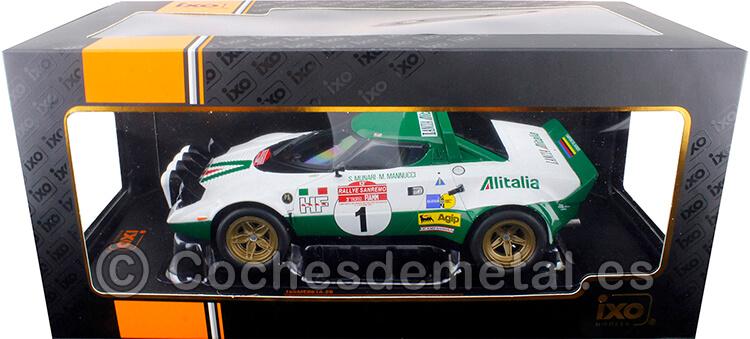 1975 Lancia Stratos HF Rallye San Remo Munari/Mannucci 1:18 IXO Models 18RMC061A