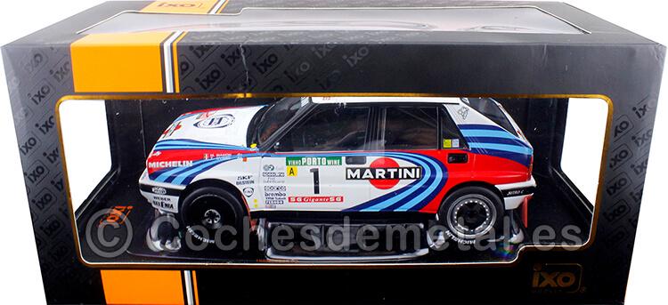 1990 Lancia Delta Integrale 16V Martini Winner Rallye Portugal Biasion/Siviero 1:18 IXO Models 18RMC064A.20