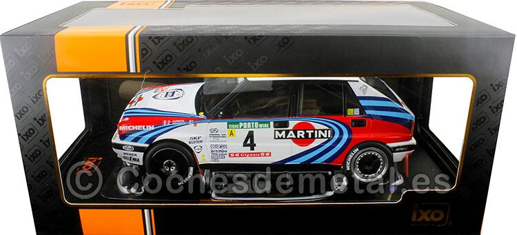 1990 Lancia Delta Integrale 16V Martini Rally Portugal Auriol/Occelli 1:18 IXO Models 18RMC064B.20