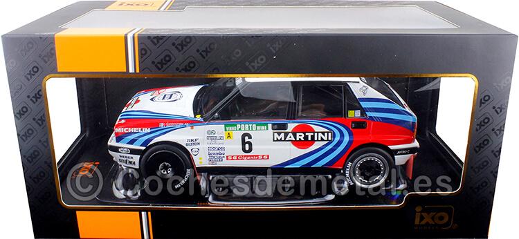 1990 Lancia Delta Integrale 16V Martini Rally Portugal Kankkunen/Piironen 1:18 IXO Models 18RMC064C.20