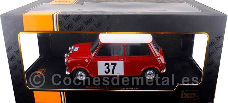 1965 Mini Cooper S RHD RAC Rally Källström/Björk 1:18 IXO Models 18RMC065D