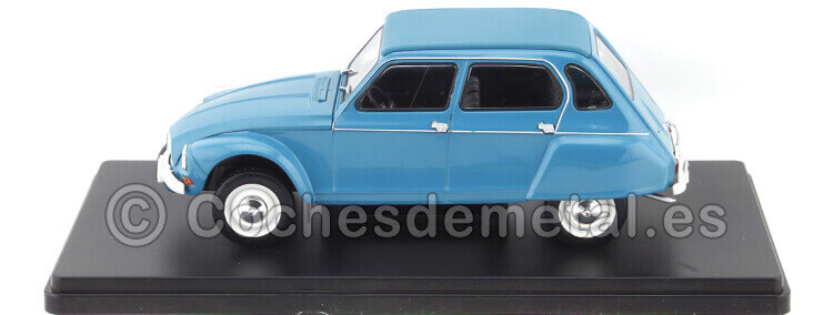 1970 Citroen Dyane 6 Azul Coches Inolvidables 1:24 Editorial Salvat ES11