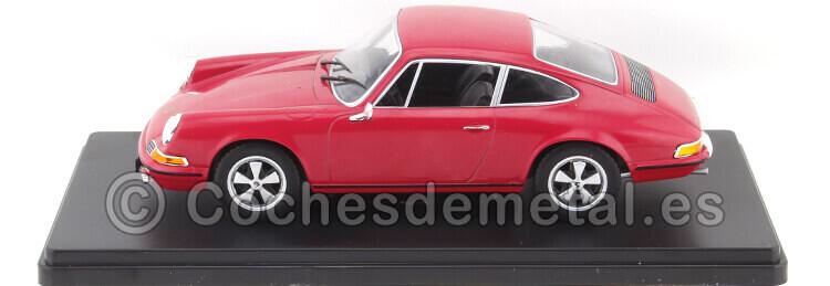1968 Porsche 911S Rojo Coches Inolvidables 1:24 Editorial Salvat ES13