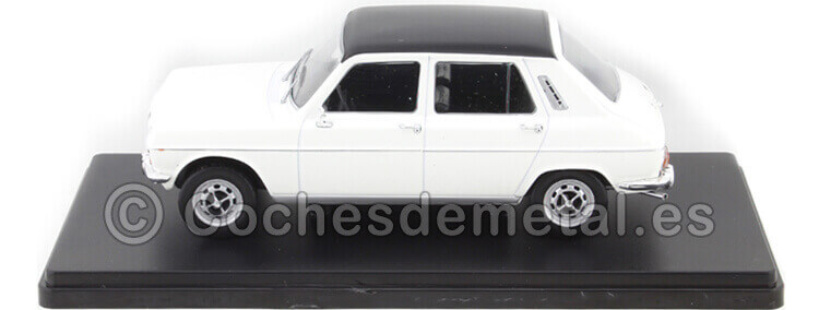 1973 Simca 1200 Special Blanco Coches Inolvidables 1:24 Editorial Salvat ES15