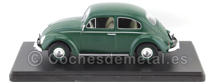 1960 Volkswagen VW Escarabajo 1200 Standard Verde Coches Inolvidables 1:24 Editorial Salvat ES16