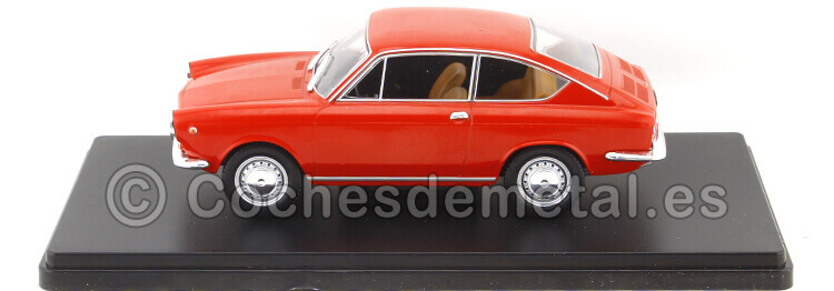 1967 Seat 850 Cupe Rojo Coches Inolvidables 1:24 Editorial Salvat ES17