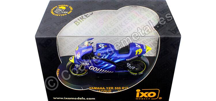 2002 Yamaha YZR 500 Moto GP Nº19 Olivier Jacque 1:24 IXO Models RAB035