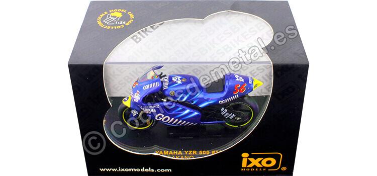 2002 Yamaha YZR 500 Moto GP Nº56 Shinya Nakano 1:24 IXO Models RAB036