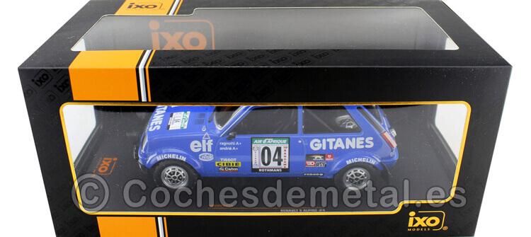 1978 Renault 5 Alpine Rallye Costa de Marfil Ragnotti-Andrie 1:18 IXO Models 18RMC043A