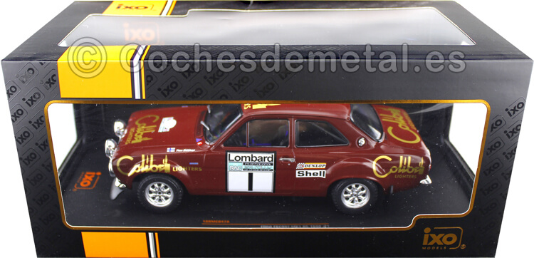 1974 Ford Escort Mk1 RS 1600 Winner Lombard RAC Rallye 1 Makinen/Liddon 1:18 IXO Models 18RMC047A