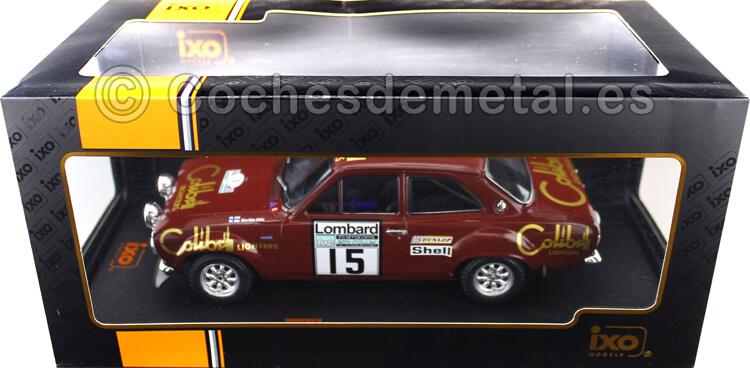 1974 Ford Escort Mk1 RS 1600 Lombard RAC Rallye 15 Alen/White 1:18 IXO Models 18RMC047B