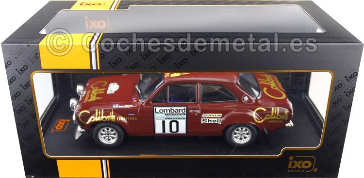 1974 Ford Escort Mk1 RS 1600 Lombard RAC Rallye 10 Mikkola/Davenport 1:18 IXO Models 18RMC047C