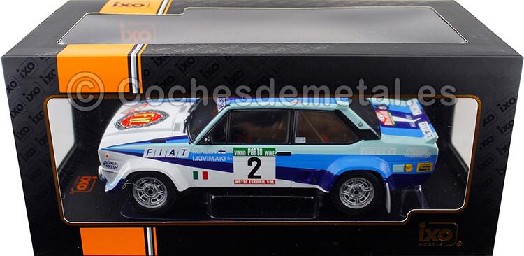1980 Fiat 131 Abarth Rallye Portugal Alen/Kivimaki 1:18 IXO Models 18RMC053A