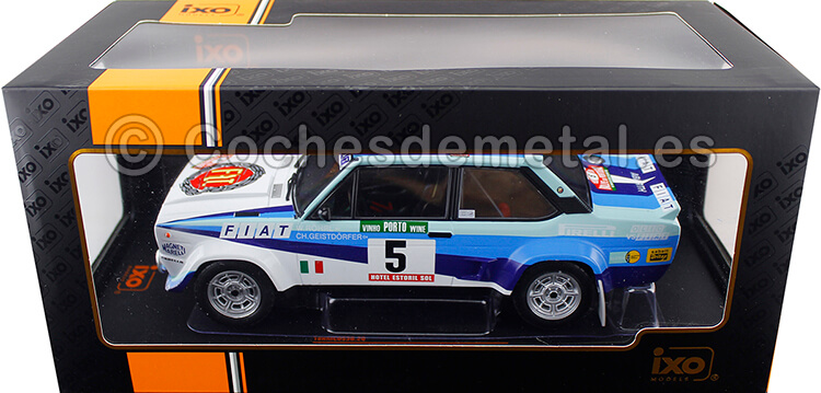 1980 Fiat 131 Abarth Winner Rallye Portugal y Campeón del Mundo Rohrl/Geistdorfer1:18 IXO Models 18RMC053B