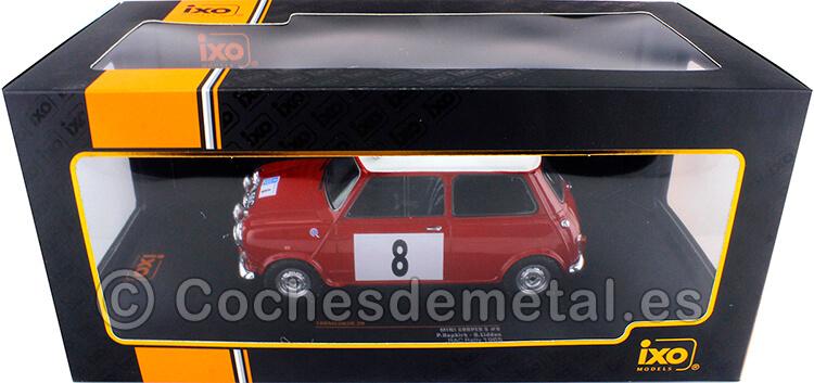 1965 Mini Cooper S RHD RAC Rally Hopkirk/Liddon 1:18 IXO Models 18RMC065B