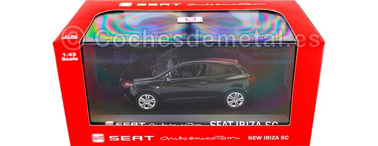 2013 Seat Ibiza SC 3 Door Black 1:43 Seat Autoemocion 02