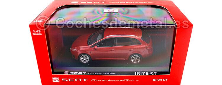 2014 Seat Ibiza ST Dakota Red 1:43 Seat Autoemocion 06