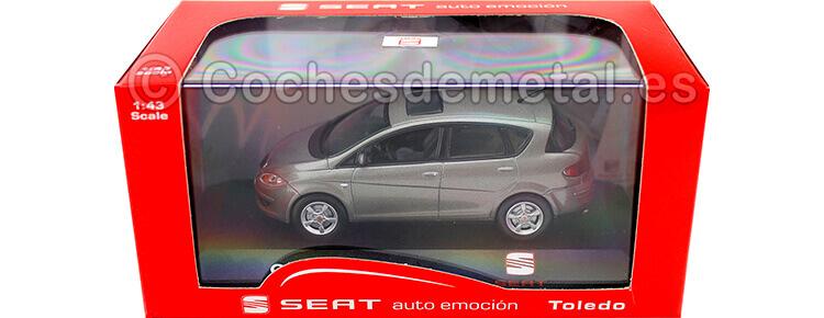 2009 Seat Toledo Stylance TDI Sombra Grey 1:43 Seat Autoemocion 11