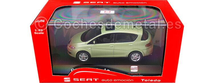2009 Seat Toledo Stylance TDI Fresco Green 1:43 Seat Autoemoción Seat16