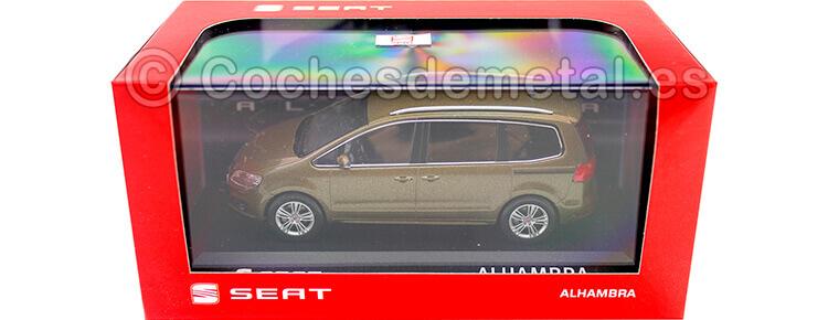 2015 Seat Alhambra Metallic Boal 1:43 Seat Autoemoción 18