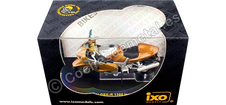 Suzuki GSX-R 1300 Hayabusa Gris/Oro 1:24 IXO Models STB014