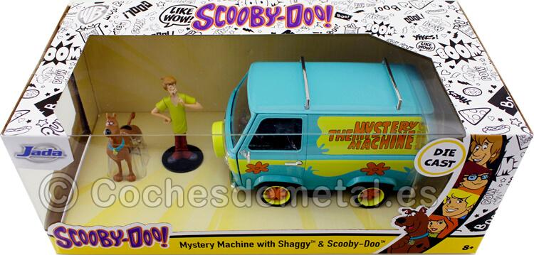1969 Camioneta La Máquina del Misterio con Scooby-Doo y Shaggy 1:24 Jada Toys 31720