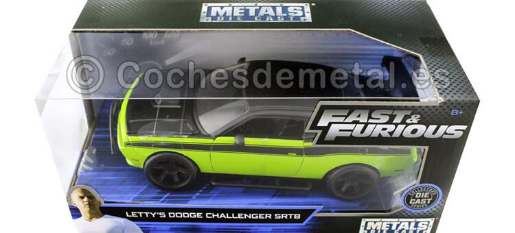 2015 Dodge Challenger SRT8 Fast & Furious VII 1:24 Jada Toys 97131