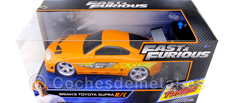 1995 Toyota Supra Fast & Furious Radio Control 1:24 Jada Toys 97602