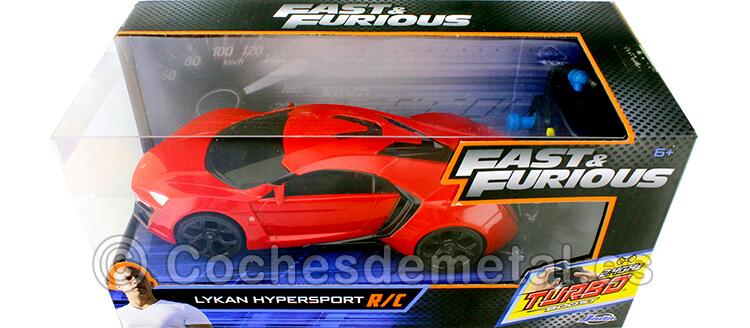 2014 Lykan Hypersport Fast & Furious 7 Radio Control 1:24 Jada Toys 98552