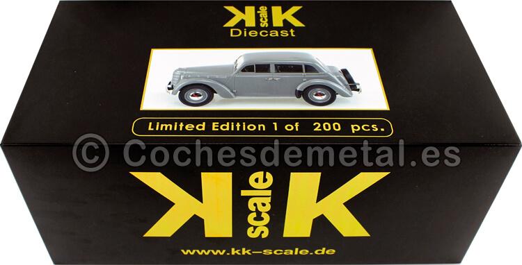 1946 Moskwitsch 400 Baujahr Gris 1:18 KK-Scale 180254