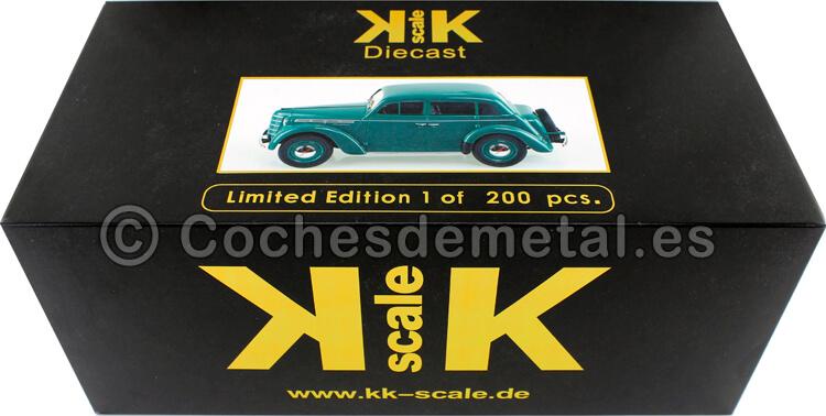 1946 Moskwitsch 400 Verde 1:18 KK-Scale 180255