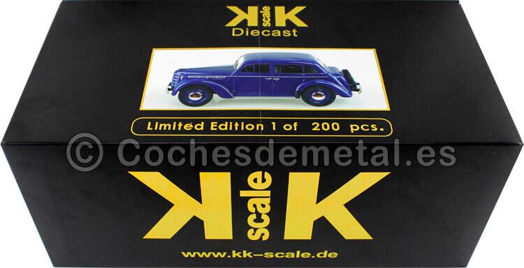 1946 Moskwitsch 400 Azul 1:18 KK-Scale 180256