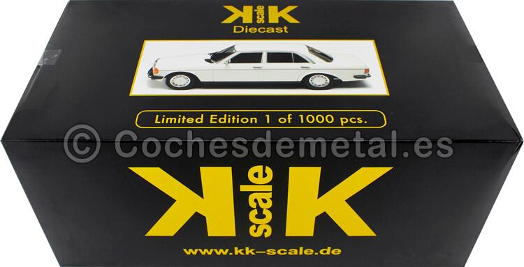 1975 Mercedes 230E (W123) White 1:18 KK-Scale 180351