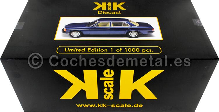 1975 Mercedes 230E (W123) Darkblue Metallic 1:18 KK-Scale 180352