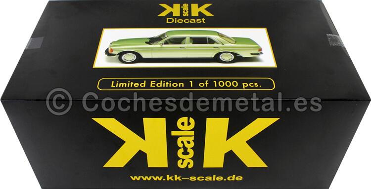 1975 Mercedes 230E (W123) Lightgreen Metallic 1:18 KK-Scale 180353