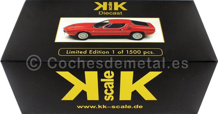 1970 Alfa Romeo Montreal Rojo 1:18 KK-Scale 180381