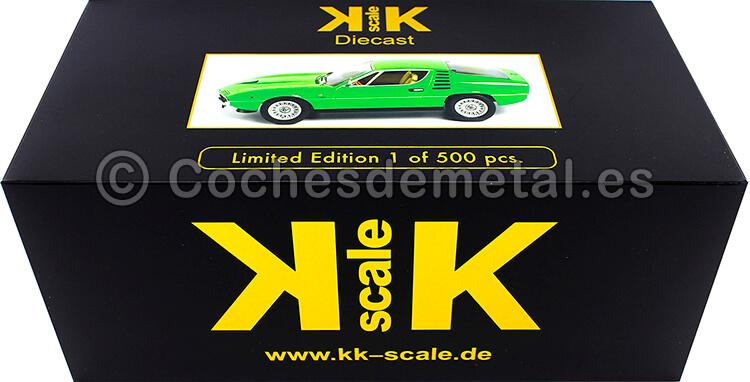 1970 Alfa Romeo Montreal Verde 1:18 KK-Scale 180384