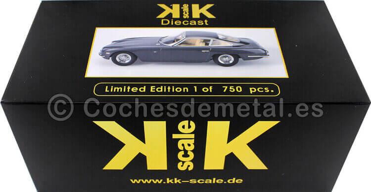 1965 Lamborghini 400 GT 2+2 Anthracit 1:18 KK-Scale 180392