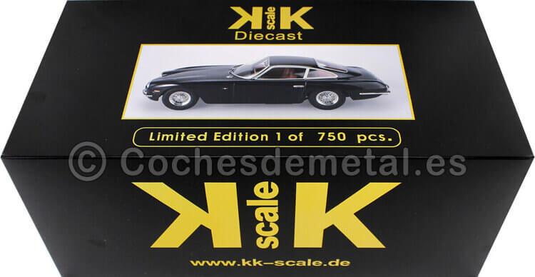 1965 Lamborghini 400 GT 2+2 Black 1:18 KK-Scale 180394