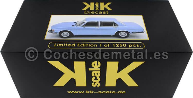 1971 BMW 3.0S E3 Serie 2 Azul Claro 1:18 KK-Scale 180401