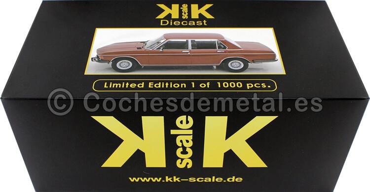 1971 BMW 3.0S E3 Serie 2 Rojo Metalizado 1:18 KK-Scale 180402