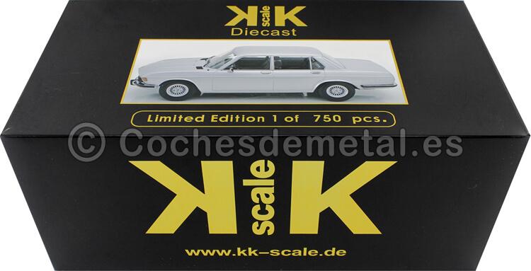 1971 BMW 3.0S E3 Serie 2 Gris Plata 1:18 KK-Scale 180403