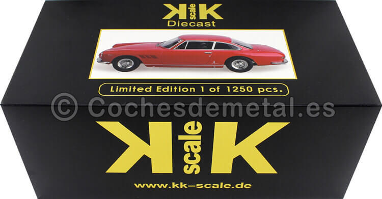 1964 Ferrari 330 GT 2+2 Rojo 1:18 KK-Scale 180421